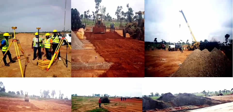 Site Preparation for Segment 2:40 x 318.6km AKK Pipeline Storage Area Kaduna